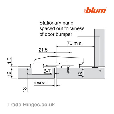 Soft Close Blind Corner Hinge